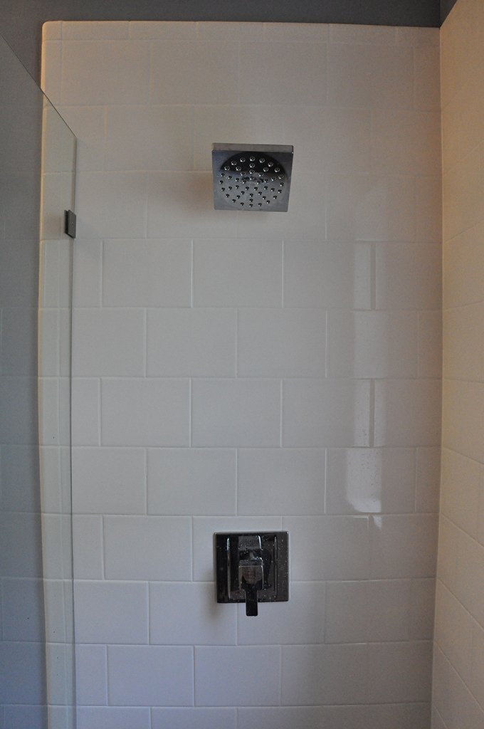 Shower Surround + Fixture