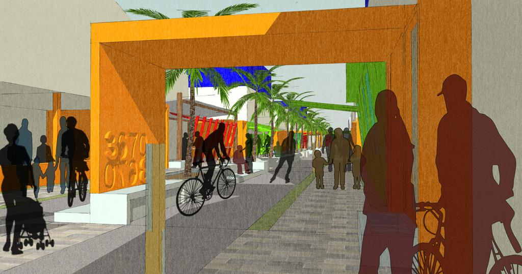 Pedestrian + Bikeway