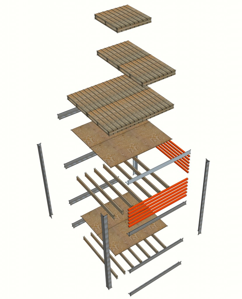 Construction Axonometric