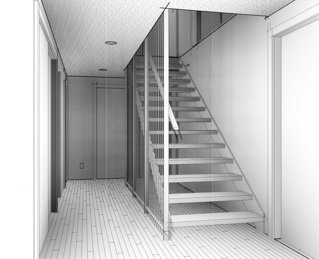 BROCKBANK - 3D View - STAIR 1